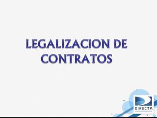 LEGALIZACION  DE CONTRATOS