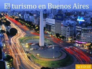 El  turismo  en Buenos Aires