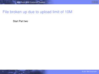 File broken up due to upload limit of 10M