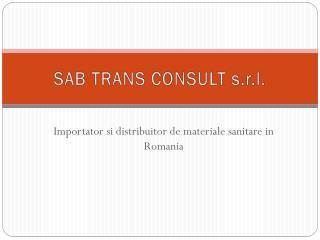 SAB TRANS CONSULT s.r.l.