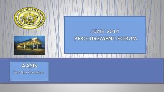 JUNE 2014  PROCUREMENT FORUM