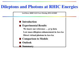 Dileptons and Photons at RHIC Energies