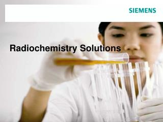Radiochemistry Solutions