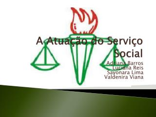 A Atua  o do Servi o Social
