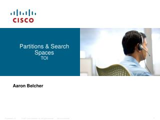 Partitions & Search Spaces TOI