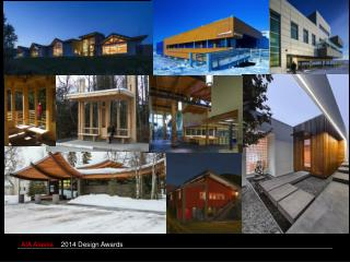 2014 AIA ALASKA  HONOR AWARDS