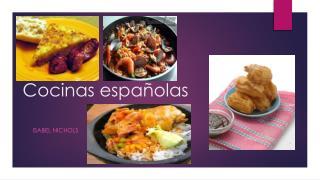 Cocinas españolas