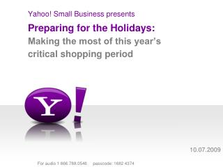 Yahoo! Small Business presents