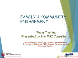 FAMILY & COMMUNITY ENGAGEMENT