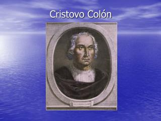 Cristovo Colón