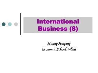 International Business (8)