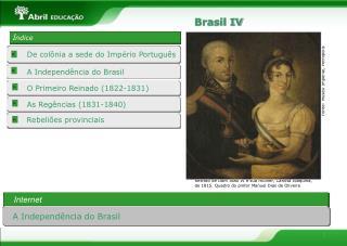 O Primeiro Reinado (1822-1831)