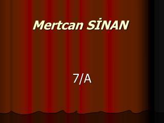 Mertcan SINAN