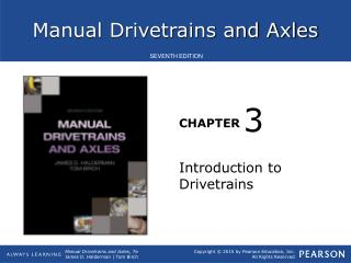 Introduction to Drivetrains