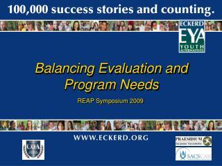 Balancing Evaluation and Program Needs