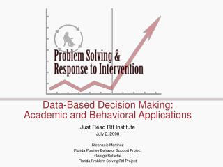 Data-Based Decision Making: Academic and Behavioral Applications