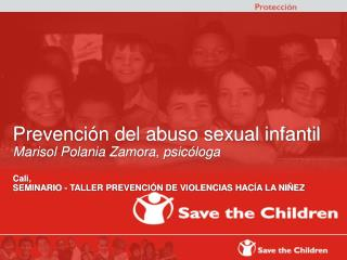 Prevención del abuso sexual infantil Marisol Polania Zamora, psicóloga Cali,