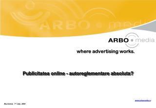 Publicitatea online - autoreglementare absoluta?