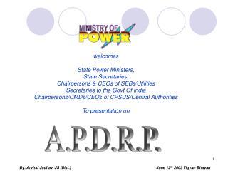 A.P.D.R.P.