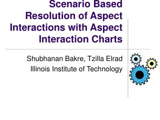 Scenario Based Resolution of Aspect Interactions with Aspect Interaction Charts