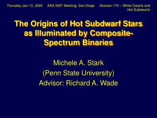 The Origins of Hot Subdwarf Stars as Illuminated by Composite-Spectrum Binaries