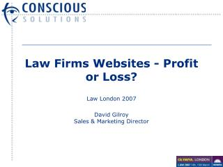 Law Firms Websites - Profit or Loss?