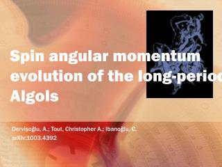 Spin angular momentum evolution of the long-period Algols