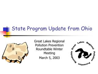 State Program Update from Ohio