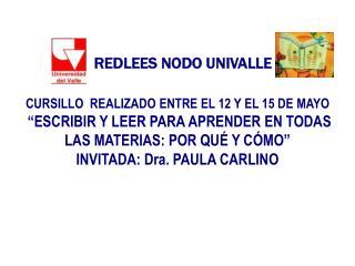 REDLEES NODO UNIVALLE