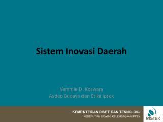 Sistem Inovasi Daerah