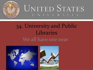 34. University and Public Libraries