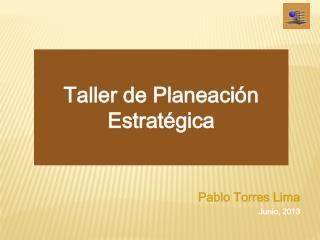 Taller de Planeación Estratégica