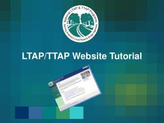 LTAP/TTAP Website Tutorial