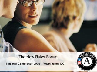 The New Rules Forum