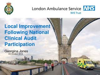Local Improvement  Following National Clinical Audit  Participation