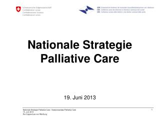 Nationale Strategie Palliative Care