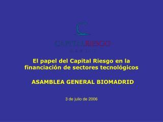 El papel del Capital Riesgo en la financiación de sectores tecnológicos