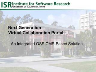 Next Generation Virtual Collaboration Portal
