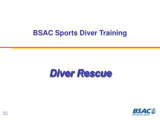 BSAC Sports Diver Training