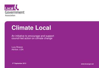 Climate Local