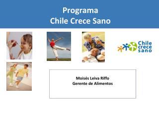 Programa Chile Crece Sano