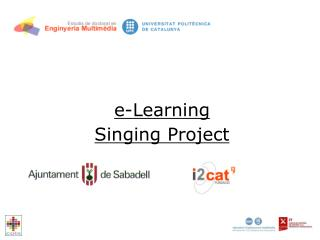 E-Learning  Singing Project