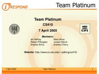 Team Platinum