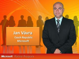 Jan Vávra   Czech Republic  Microsoft