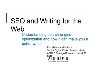 SEO and Writing for the Web