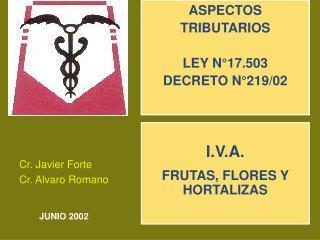 Cr. Javier Forte Cr. Alvaro Romano