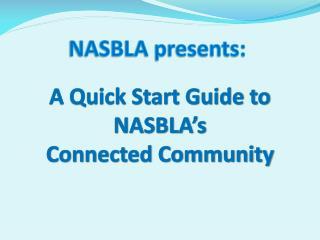 NASBLA presents: