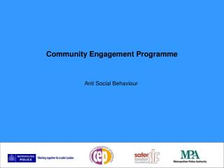 Community Engagement Programme