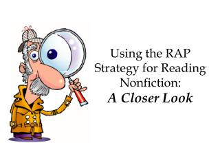 Using the RAP Strategy for Reading Nonfiction: A Closer Look