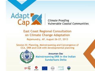 Ansuman Das Mainstreaming DRR In the Indian Sundarbans Delta